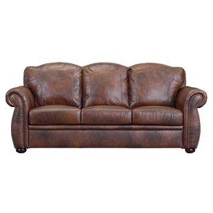 Canora Grey Danieli Leather Sofa