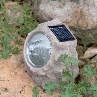 Review Cohla Rock 1 Light LED Well Light (Set Of 3)