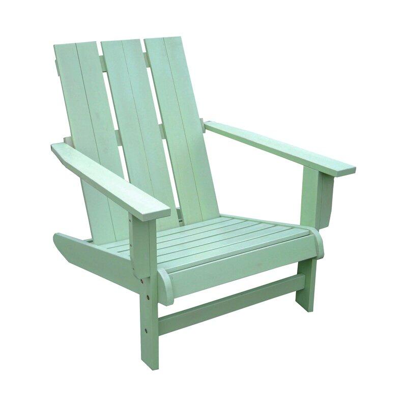 Sabbattus Solid Wood Adirondack Chair