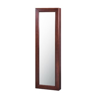 Clintonpark Wall Mounted Jewelry Armoire with Mirror by Alcott Hill