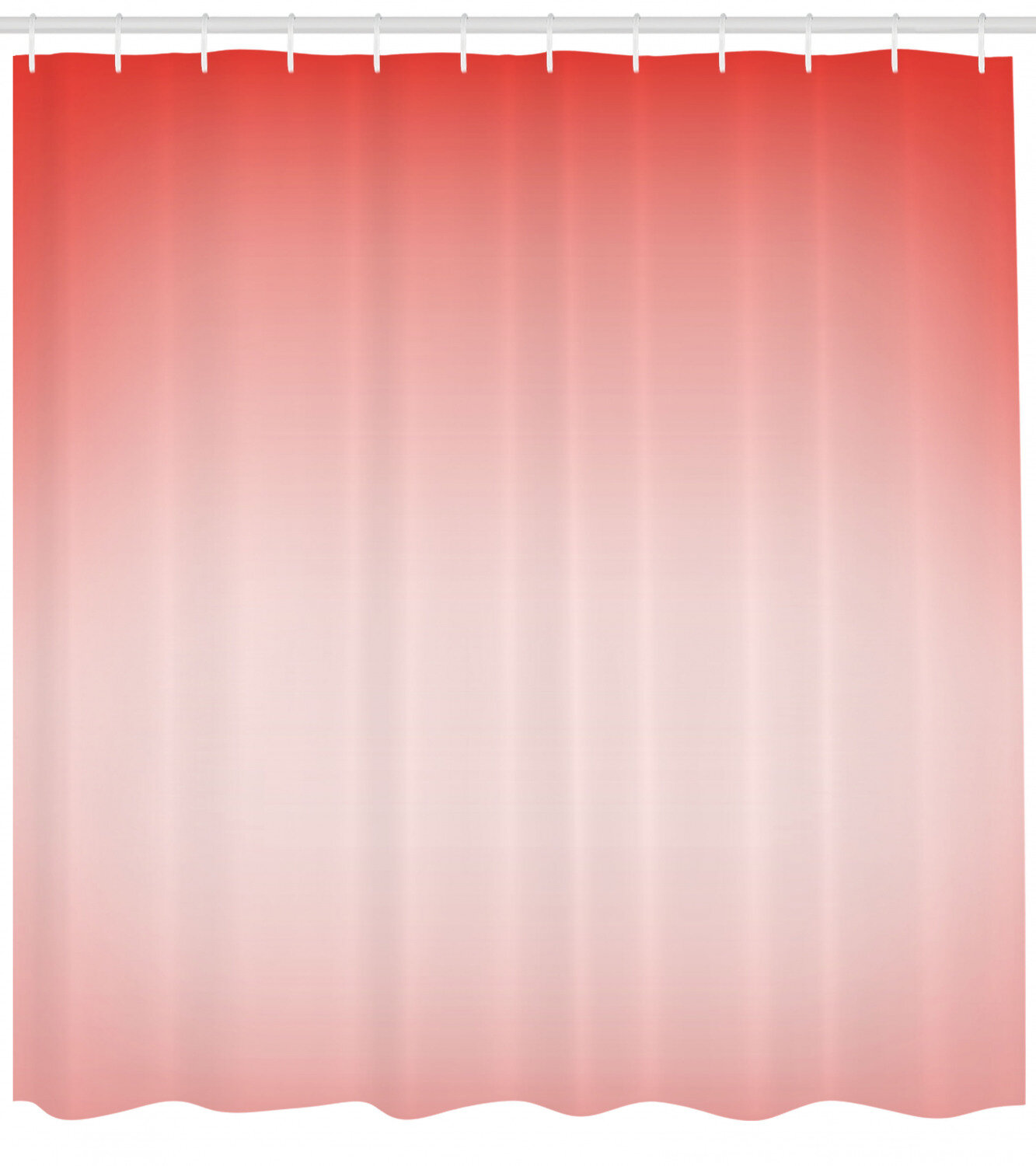 Ambesonne Peach Shower Curtain Abstract Ombre Composition In Feminine Colors With Dreamy Display Art Print Cloth Fabric Bathroom Decor Set With