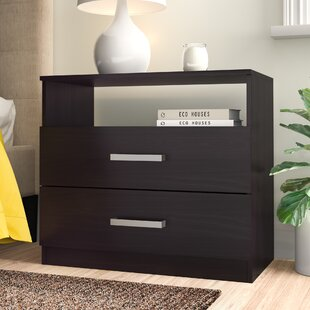 Sina 2 Drawer Nightstand by Zipcode Design