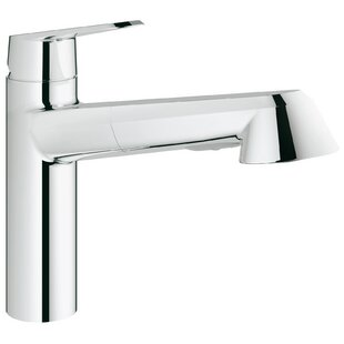 Grohe Eurodisc Single Handle Kitchen Faucet with SilkMove®