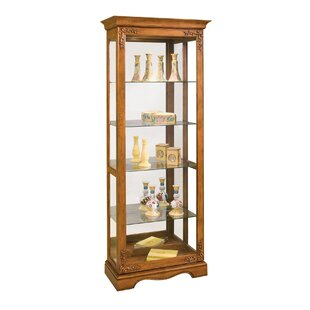 Philip Reinisch Co. Andante II Lighted Curio Cabinet