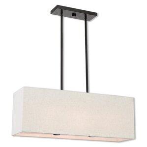 briceno linear 2light kitchen island pendant with diffuser