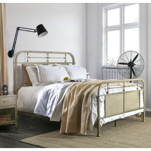 Williston Forge Jacinta Metal Panel Bed