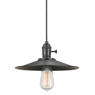 1-Light Cone Pendant by Cal Lighting