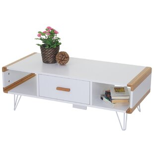 Hawkesbury Coffee Table With Storage By 17 Stories