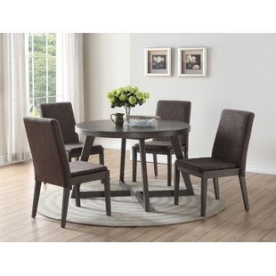 Kristy 5 Piece Dining Set Ivy Bronx