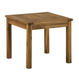 Luyster Solid Wood Side Table