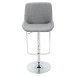 Beaudin Adjustable Height Swivel Bar Stool by Wrought Studio™