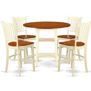 Tyshawn Counter Height 5 Piece Pub Table Set Comparison
