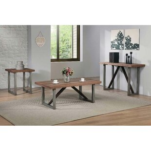 Williston Forge Cheval 3 Piece Coffee Table Set