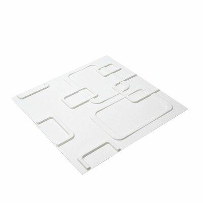 Olina 3D Embossed Paintable Wallpaper Panel e-Joy
