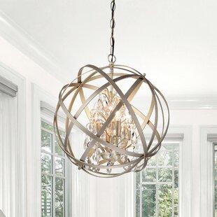 Wire Globe Crystal Chandelier Wayfair