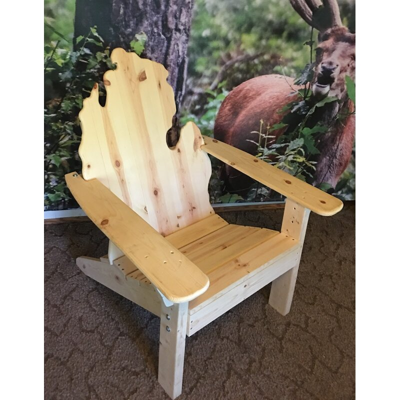Wondrous Andish Classic Michigan Solid Wood Adirondack Chair Bralicious Painted Fabric Chair Ideas Braliciousco