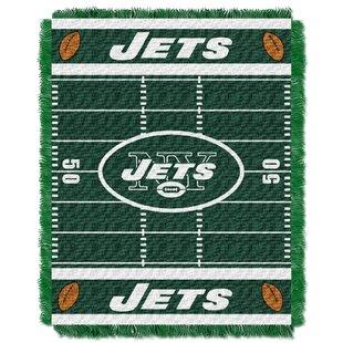 Best NFL Jets Field Baby Blanket ByNorthwest Co.