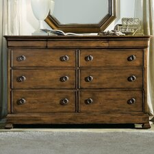 Archivist 9 Drawer Double Dresser by Hooker Furniture
