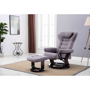Gilleland Manual Glider Recliner with Ottoman