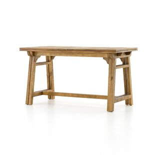 Maissane Counter Height Solid Wood Dining Table