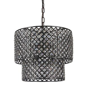 House of Hampton Clemence 8-Light Crystal Chandelier