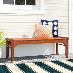 Monterry Wood Picnic Bench by Beachcrest Home No Copoun