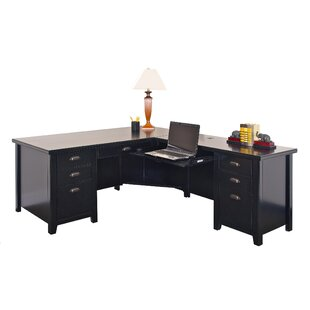 Tribeca L-Shape Executive Desk by Three Posts