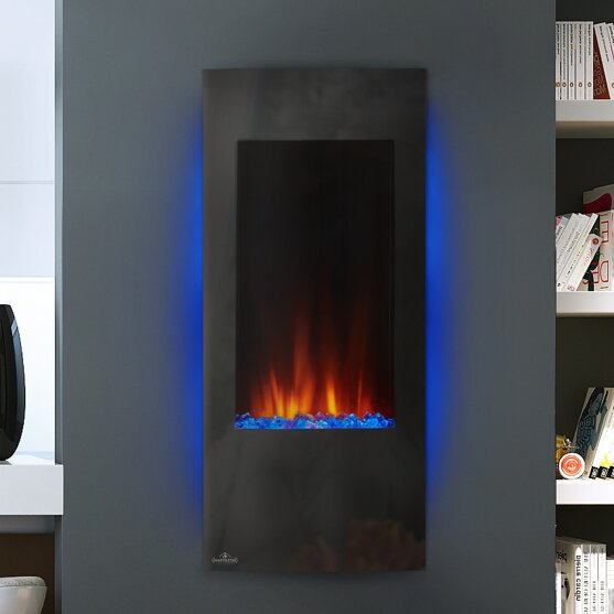 Superb Azure™ Wall Mounted Electric Fireplace