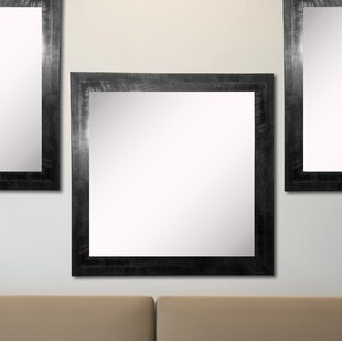 Best Choices Kimzey Black Smoke Wall Mirror (Set of 3) By Charlton Home