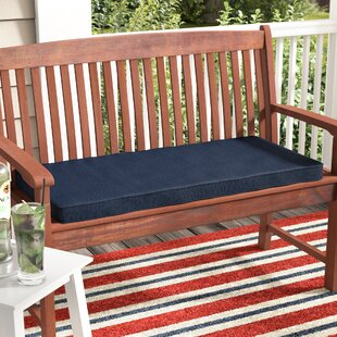 Indoor/Outdoor Sunbrella Bench Cushion By Breakwater Bay