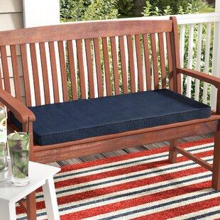 Indoor/Outdoor Sunbrella Bench Cushion By Breakwater Bay