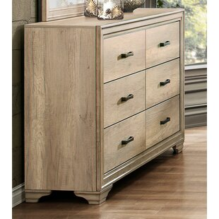 Ophelia & Co. Gretna Transitional 6 Drawer Double Dresser