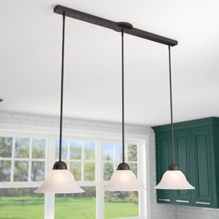 Three Posts Engelbrecht 3-Light Kitchen Island Pendant