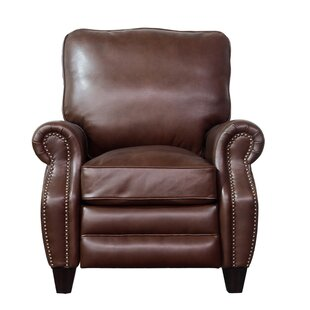 Darby Home Co Ponteland Leather Manual Recliner