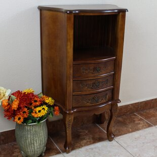 Carved Wood Furniture End Table