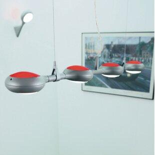 ZANEEN design Space 4-Light Kitchen Islan..