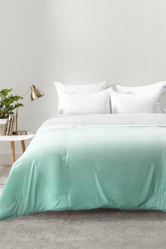 East Urban Home Ombre Comforter Set & Reviews   Wayfair
