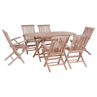 Barragan 6 Seater Dining Set By Sol 72 Outdoor