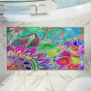 Contemporary Memory Foam Bath Rug