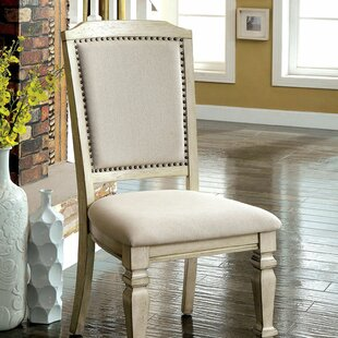 Vivienne Upholstered Dining Chair (Set of 2) Ophelia & Co.