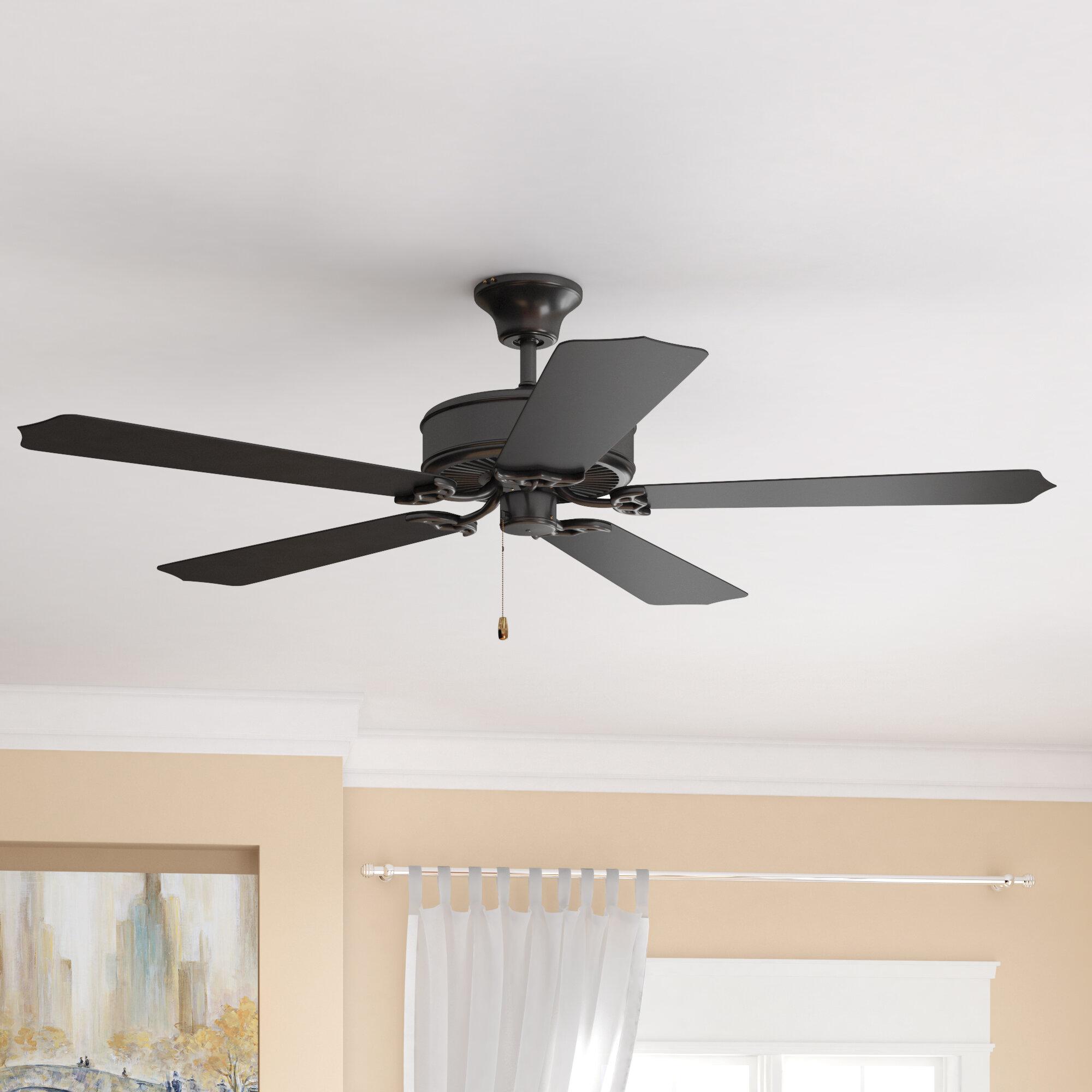 Andover Mills 52 Aaden 5 Blade Outdoor Ceiling Fan Reviews Wayfair