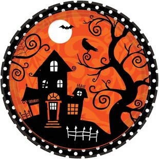 Halloween Paper Dinner Plate (Set of 54)