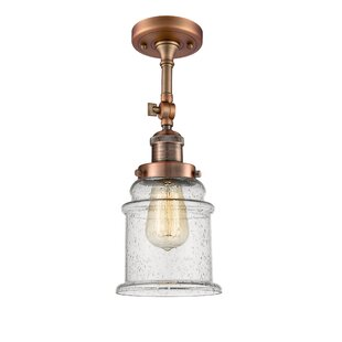 Greeley 1-Light Semi Flush Mount by Laurel Foundry Modern Farmhouse