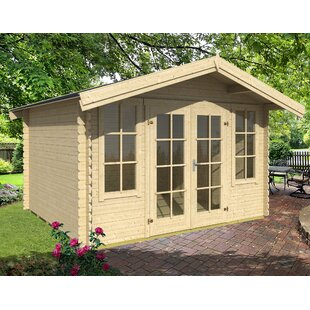 Beam 11 X 11 Ft. Tongue & Groove Summer House By Sol 72 Outdoor