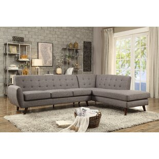 Shop for Biddle Modular Sectional by George Oliver Reviews (2019) & Buyer's Guide