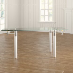 Glass Extendable Dining Table By Wade Logan