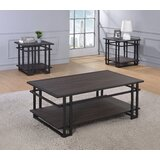 Palermo 3 Piece Coffee Table Set by Ivy Bronx