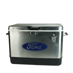54 Qt. Stainless Steel Ford Cooler