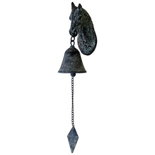 Horse Head Bell By Brambly Cottage