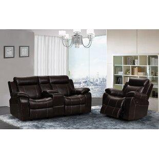 Manan 2 Piece Reclining Living Room Set